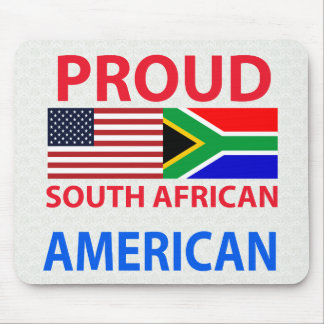 Proud South African American Mouse Mat