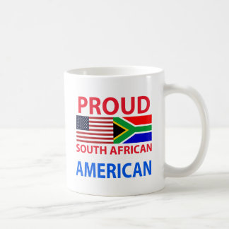 Proud South African American Mugs