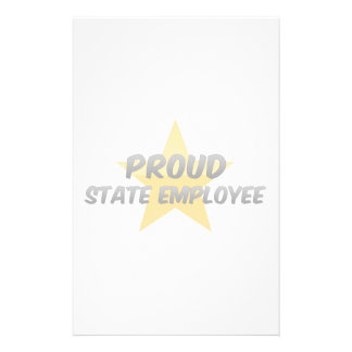 Proud State Employee Stationery Design