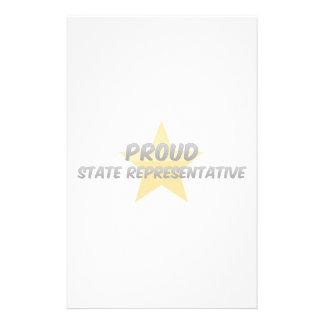 Proud State Representative Stationery