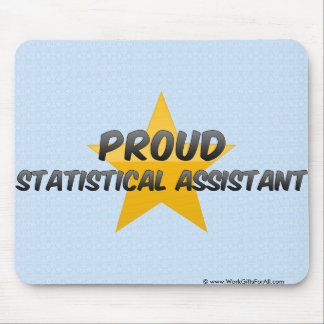 Proud Statistical Assistant Mouse Pad
