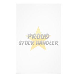 Proud Stock Handler Stationery