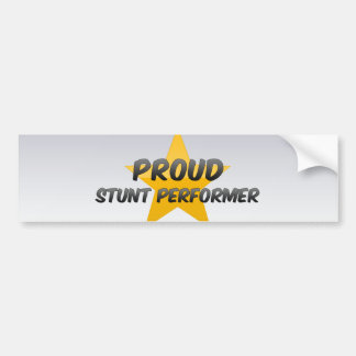 Proud Stunt Performer Bumper Sticker