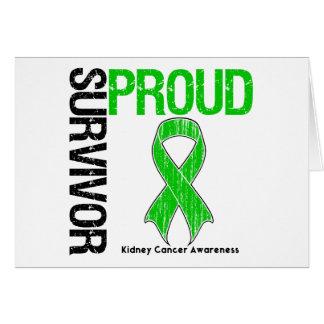 Proud Survivor - Kidney Cancer Cards