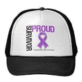 Proud Survivor - Leiomyosarcoma Trucker Hats