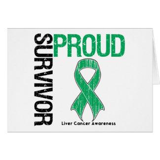 Proud Survivor - Liver Cancer Cards