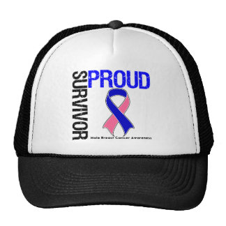 Proud Survivor - Male Breast Cancer Hat