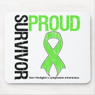 Proud Survivor - Non Hodgkins Lymphoma Mouse Pads