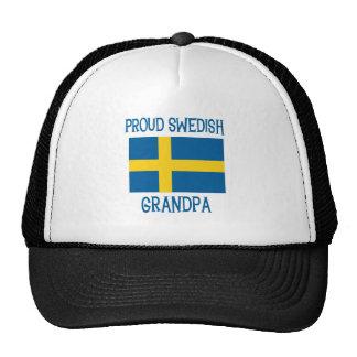 Proud Swedish  Grandpa Cap