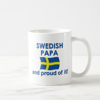 Proud Swedish Papa Coffee Mug