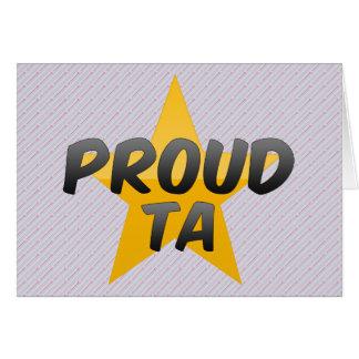Proud Ta Card