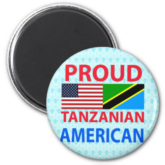 Proud Tanzanian American Refrigerator Magnet