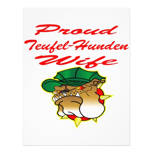 Proud Teufel-Hunden Wife Flyers
