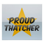 Proud Thatcher Print