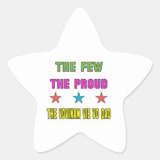 Proud the Vovinam vie vo dao. Star Sticker