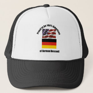 Proud to be 100 % American of German desent cap