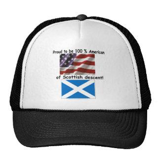 Proud to be 100% American of Scottish Decent Cap