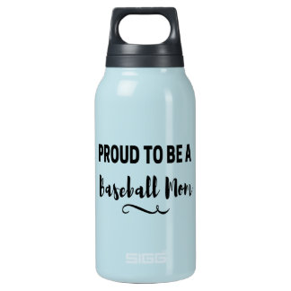 Proud to be a Baseball Mom Womens Water Bottle