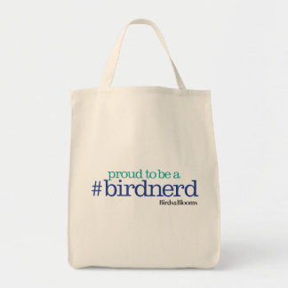 Proud to be a bird nerd tote bag