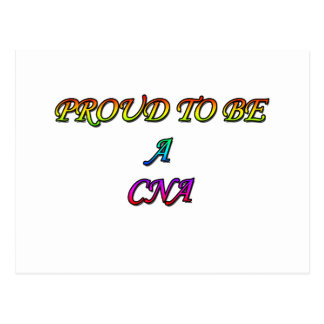 PROUD TO BE A CNA POSTCARD