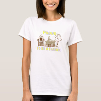 Proud To Be A Farmer Tee For Women