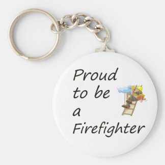 proud to be a firefighter copy key ring