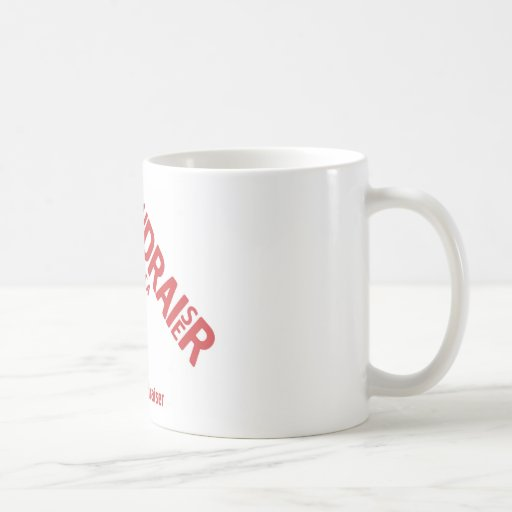 Proud to be a Fundraiser campaign merchandise Mugs