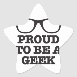Proud To Be A Geek Stickers