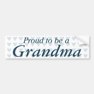 Proud to be a Grandma! Bumper Sticker