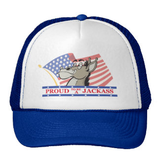 Proud To Be A Jackass Political Cap
