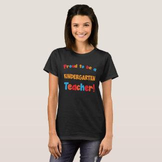 Proud to be a Kindergarten Teacher Educator T-Shir T-Shirt