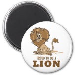 Proud To Be A Lion Magnets