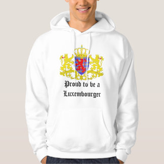 Proud to be a Luxembourger Hoodie