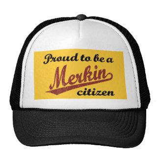 Proud to be a Merkin Citizen Cap