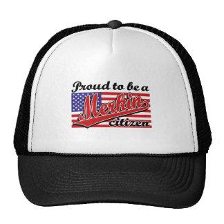 Proud to be a Merkin Citizen Trucker Hat