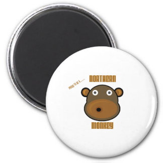 Proud To Be a Northern Monkey 6 Cm Round Magnet