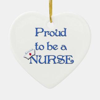 Proud to be a nurse-Pendant Ornament