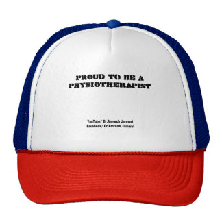 Proud to be a Physiotherapist Cap