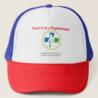 Proud to be a Physiotherapist cap (With logo)