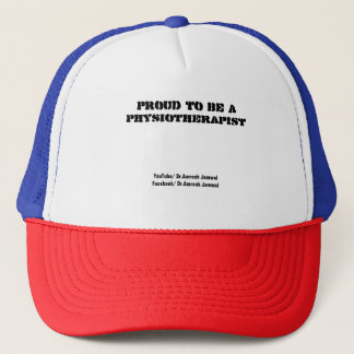 Proud to be a Physiotherapist Trucker Hat