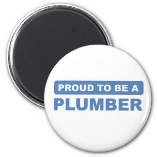 Proud to be a plumber magnets