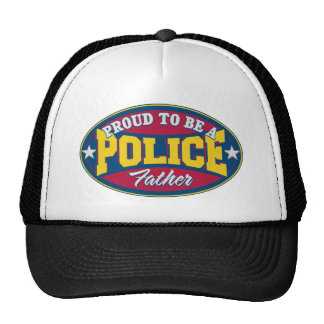 Proud to be a Police Father Cap