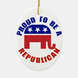 Proud To Be A Republican Original Christmas Ornament