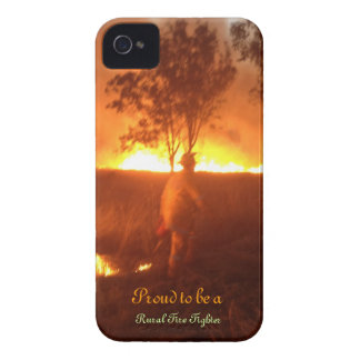 Proud to be a Rural Fire Fighter Iphone 4g BTC iPhone 4 Cover