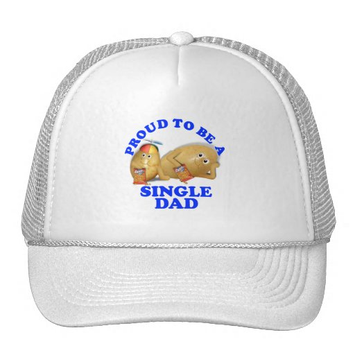 Proud to be a Single Dad - Father & Son Potatoes Trucker Hat