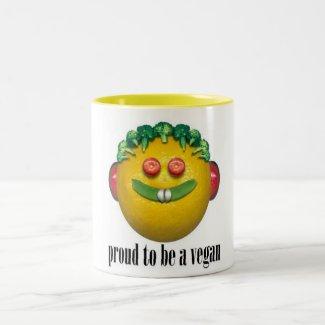 Proud to be a Vegan Mug