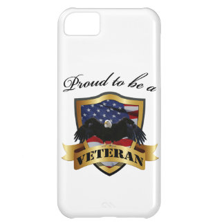 Proud to be a Veteran Cover For iPhone 5C