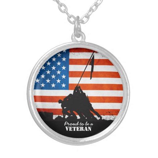 Proud to be a Veteran Pendants