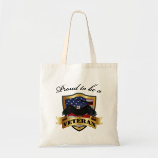 Proud to be a Veteran Totes Budget Tote Bag