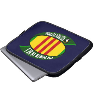 Proud to be a Vietnam Vet Computer Sleeves